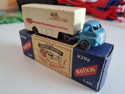 Matchbox Moko Lesney M2 Major Pack Bedford camion Walls icecream