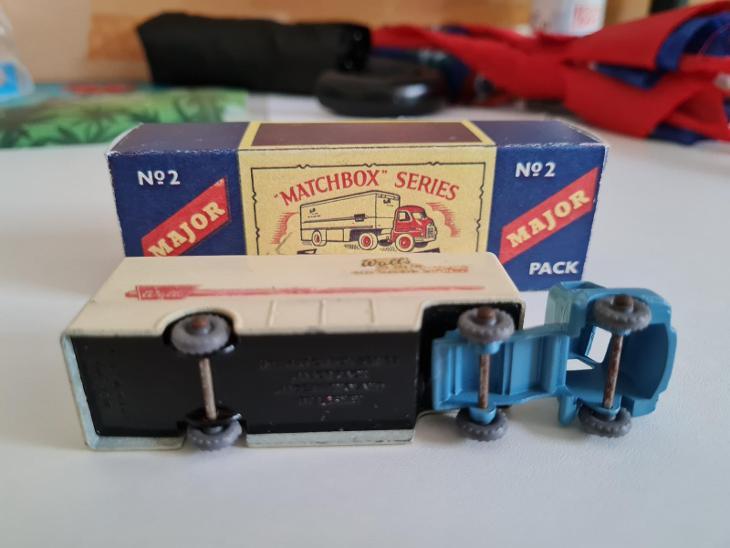 Matchbox Moko Lesney M2 Major Pack Bedford camion Walls icecream - Modelářství