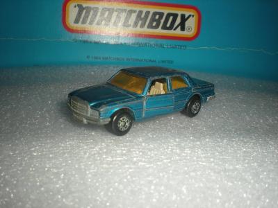 Matchbox Mercedes 450SEL. r.1979 ENGLAND!!