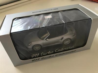 1:43 Porsche 911 Turbo Cabriolet Herpa