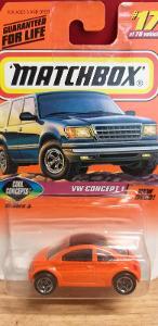 MATCHBOX ´´ VW CONCEPT 1 ´´ 1998 #17