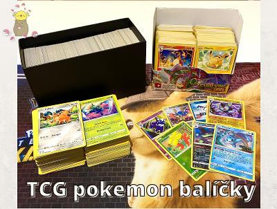 Pokemon TCG balíčky pro sběratele a děti