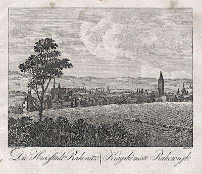 Rakovník, Hyllos, mědiryt , 1820