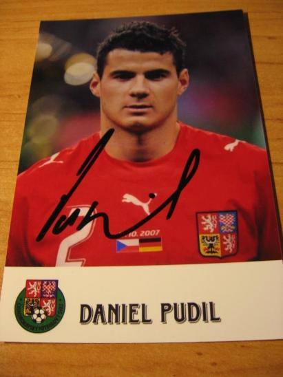 Daniel Pudil - ČR - orig. autogram  - Ostatní