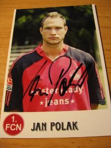 Jan Polák - Nürnberg - orig. autogram