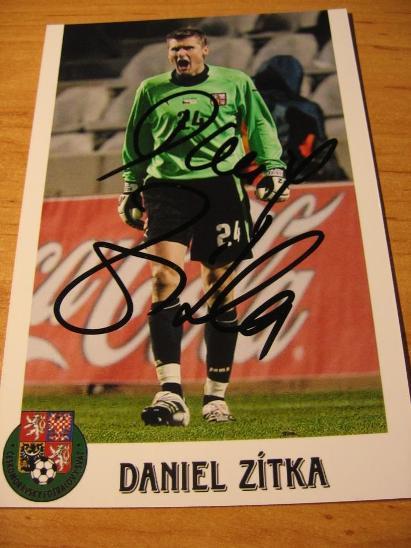 Daniel Zítka - ČR - orig. autogram  - Ostatní