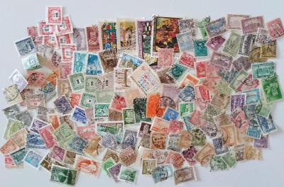 Každá jiná - poštovní známky Maďarska 150ks