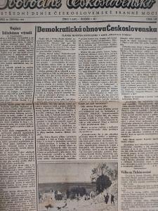 Svobodné slovo 10.6.1945