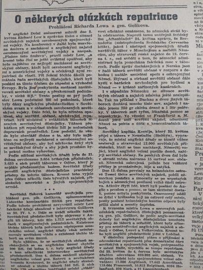 Svobodné slovo 10.6.1945 - Antikvariát