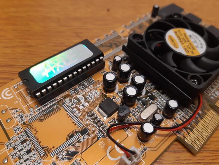 RETRO HW - Grafická karta AXLE NVIDIA Riva TNT2 PRO, 32MB, AGP - Historické počítače