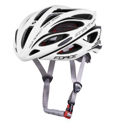 Force SCORPIO bílá cyklistická přilba
