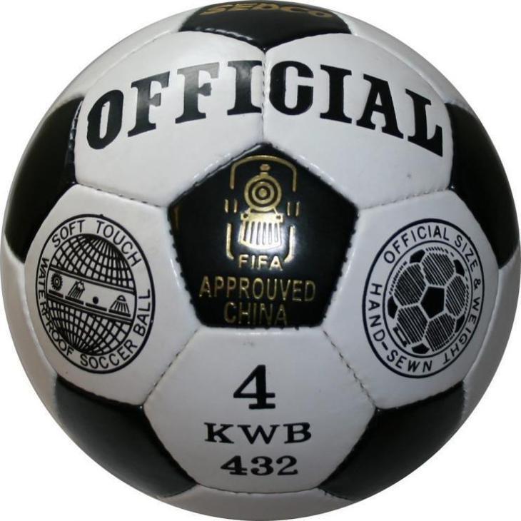 Sedco Fotbalový míč OFFICIAL KWB32 vel.4 - Kolektivní sporty
