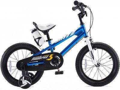 RoyalBaby Freestyle modrá 12 dětské kolo