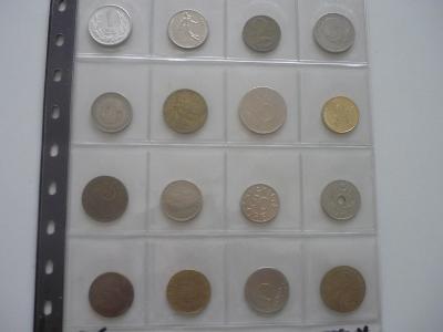 Ruzné mince.č.5.-20.Ks. - 100.-