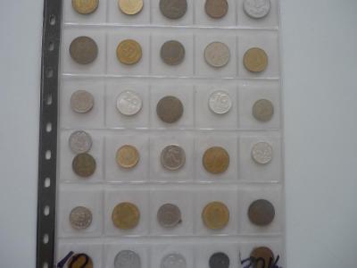 Ruzné mince.10..-30.Ks. - 100.-