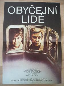Obyčejní lidé (filmový plakát, film USA 1980, režie R