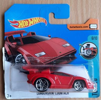 Hot Wheels - Tooned Lamborghini Countach 2017