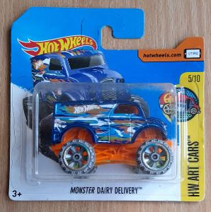 Hot Wheels - Art Cars Monster Dairy Delivery 2017