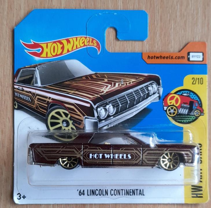 Hot Wheels - Art Cars 64 Lincoln Continental 2017 - Modelářství
