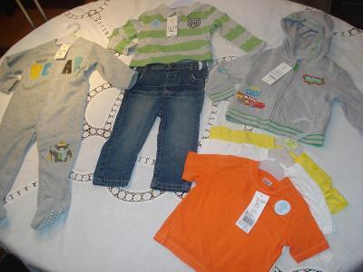 Dětské oblečení chlapecké 86 cm(12-18 měs) nové