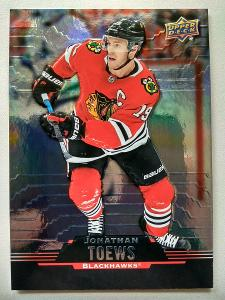 Jonathan Toews #19 Chicago Blackhawks 2020/21 Tim Hortons