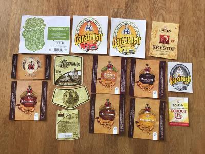 Pivní etikety
