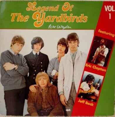 LP The Yardbirds - Legend Of The Yardbirds Vol.1 EX