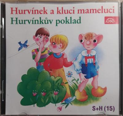 CD Hurvínek - Kluci mameluci a Hurvínkův poklad