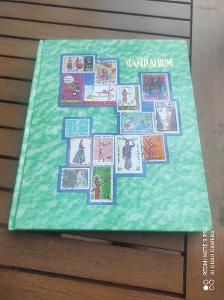 Album poštovních známek po sběrateli
