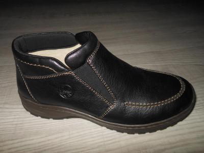 Pánské zimní kotníkové boty zn. RIEKER  vel. 43