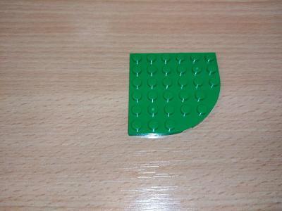 Lego díl 6003 - deska zelená