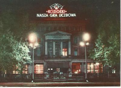 Poznań v noci - Plac Wolności, propagační razítko (Polsko) 3-4694°°