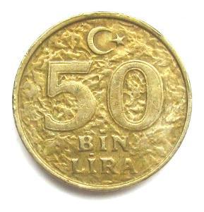 Turecko 50 000 Lir 1999