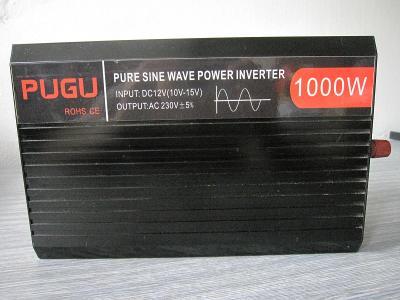 Měnič napětí PUGU ROHS CE 1000W