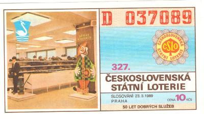 Los ČSL 1989 PRAHA