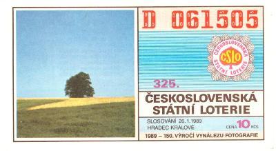 Los ČSL 1989 HRADEC KRÁLOVÉ