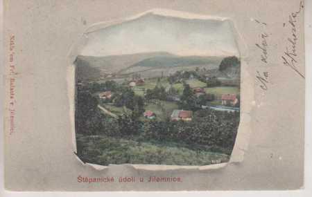Štěpanické údolí u Jilemnice, celkový pohled, bare