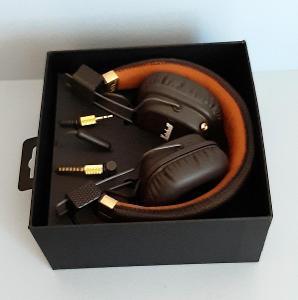 Sluchátka bezdrátová MARSHALL Major II, mikrofon, hlasitost - hn, čern
