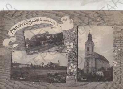 Hodonín - pozdrav z Čejkovic na Moravě