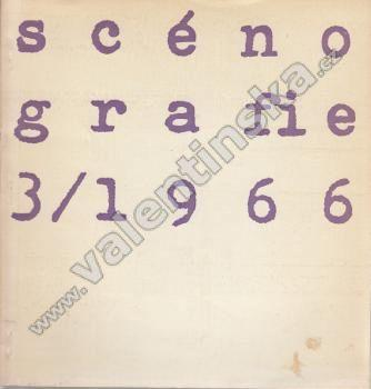 Scénografie, 3/1966