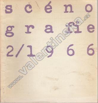 Scénografie, 2/1966