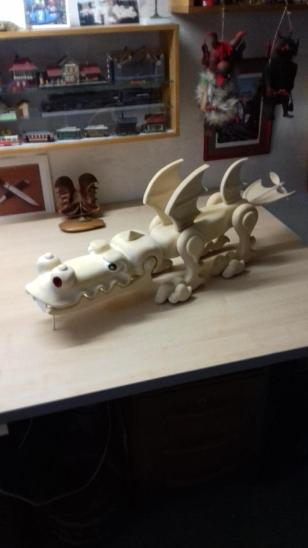 loutka draka - Starožitnosti