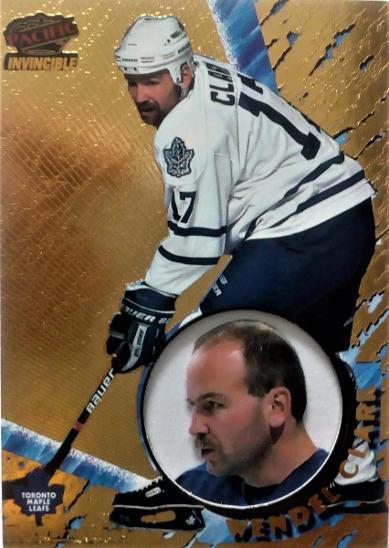 Invincible 97-98...  W.Clark - Sportovní sbírky