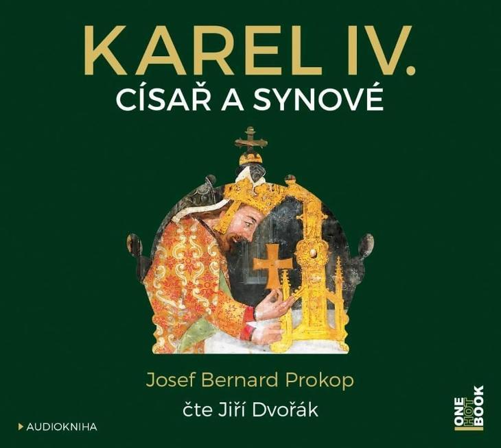 CD mp3 digipak  Karel IV. - Císař a synové  (8 hodin 21 minut) - Hudba
