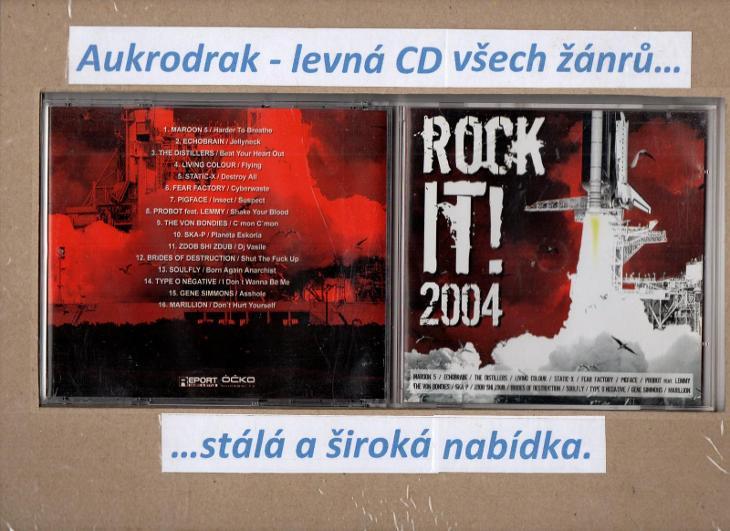 CD/Rock It! 2004 - Hudba
