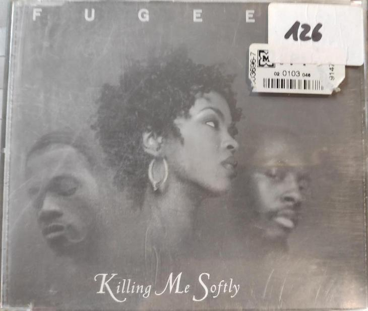 CD SINGL FUGEES-KILLING ME SOFTLY - Hudba