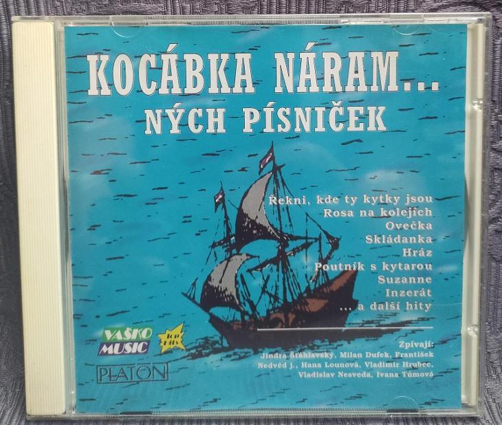 CD - Kocábka náramných písniček I.  (1996), CD V PĚKNÉM STAVU - Hudba