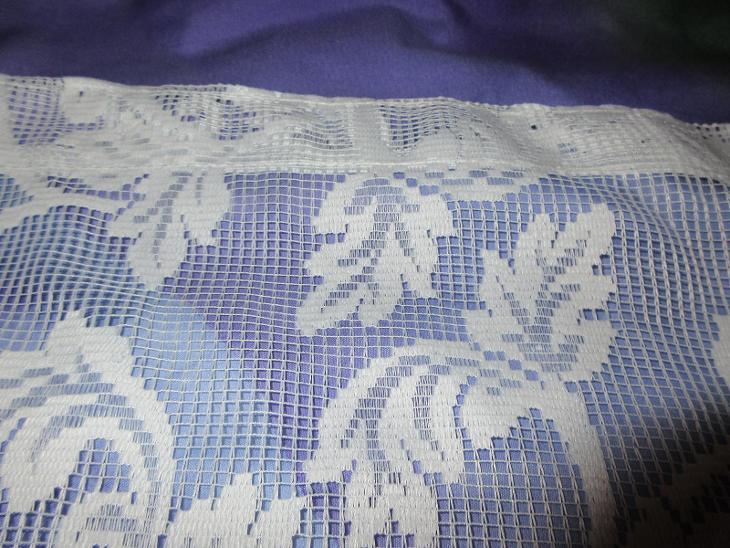 záclona nová pěkný hustá vzor listy - Zařízení