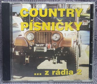 CD - Country písničky z rádia (1997), CD V PĚKNÉM STAVU