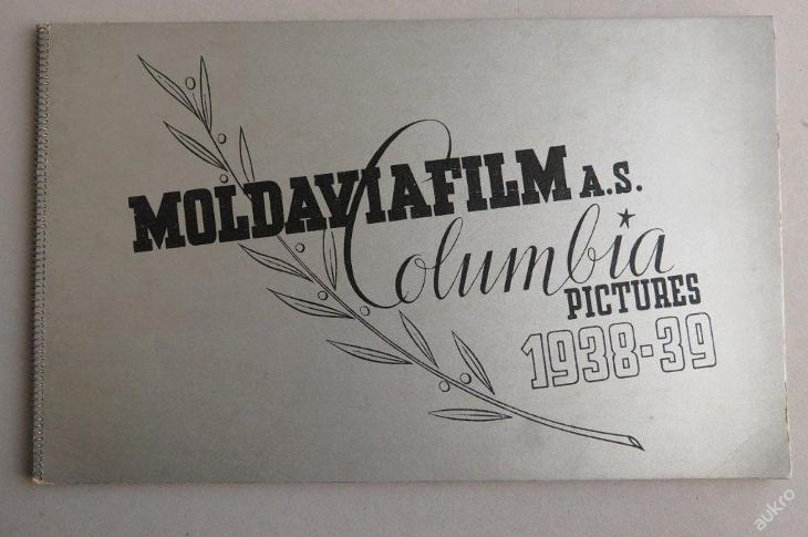 Katalog filmů Columbia 1938/39 MOLDAVIAFILM - film - herci - Knihy